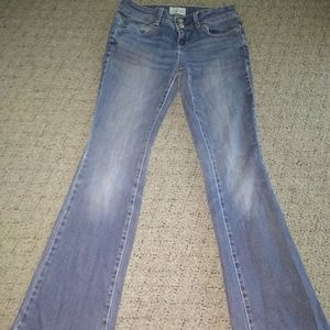 aeropostale jeans, in okay condition